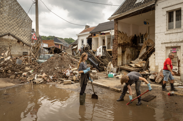 Aid still needed after flooding in the Walloon region