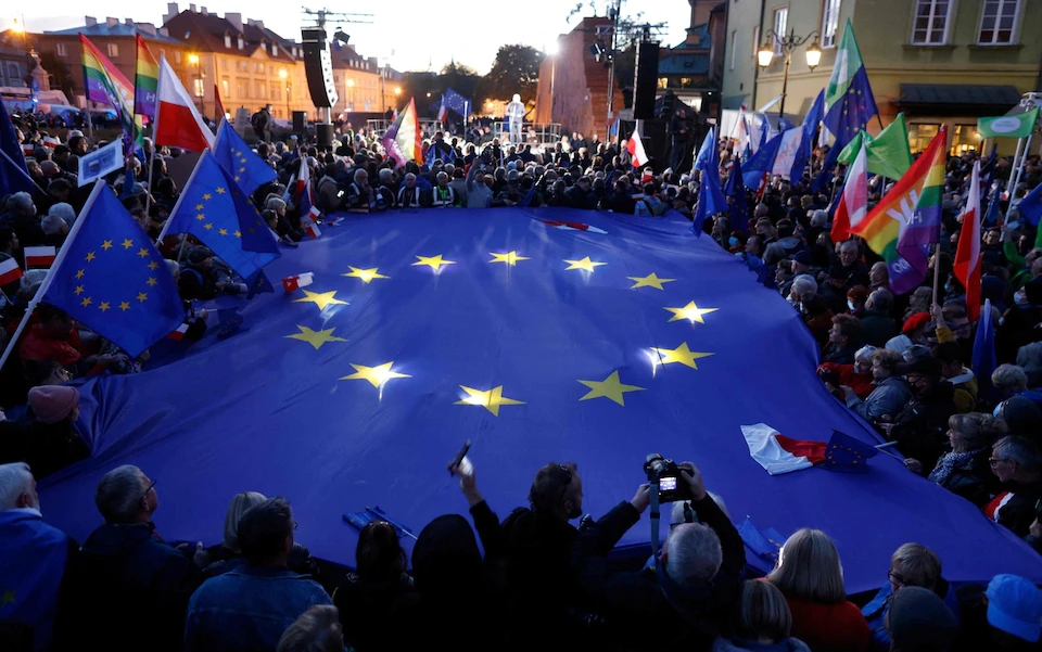 In Eastern Europe the Foundations of the European Union in danger